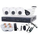 ZESTRON Paket CCTV Super Ekonomis 16-Channel 1MP AHD Camera (Merchant) - Cctv Camera