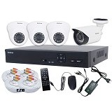 ZESTRON Paket CCTV Super Ekonomis 4-Channel 1MP AHD Camera (Merchant) - Cctv Camera
