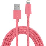 ZIKKO Lightning Adapter Cable 1.5m for iPhone [SC 500] - Pink - Cable / Connector Usb