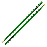 ZILDJIAN Drum Stick 5A Acorn Wood [5ACWDGG] - Neon Green - Stick Drum