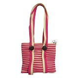 ZIP N ROLL Tote Bag [TB001] - Pink Cream