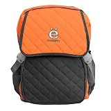 ZONKER Backpack with Laptop Slot + Rain Cover - Orange (Merchant) - Notebook Backpack