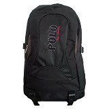 POLO Symbol Collection with Laptop Slot + Rain Cover - Black (Merchant) - Notebook Backpack