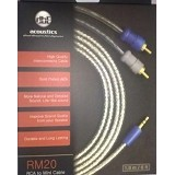 dbE Acoustic Mini Stereo 3.5mm to RCA Output 1.8M [RM20] - Cable / Connector Analog