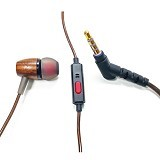 dbE In Ear Earphone with Microphone WS10 Rev 3 Wood (Merchant) - Earphone Ear Monitor / Iem