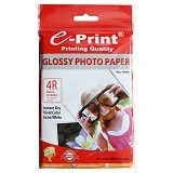 e-Print Glossy Photo Paper 4R / A6 [PP-GLO-012] - Kertas Foto / Photo Paper