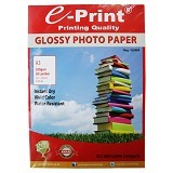 e-Print Glossy Photo Paper A3 [PP-GLO-015 - Kertas Foto / Photo Paper