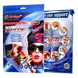 e-Print Glossy Photo Paper Blue A4 [PP-GLO-005] - Kertas Foto / Photo Paper