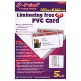 e-Print PVC Card Liminating Free (200mm x 300mm) A4 [PP-SPC-008] - Kertas Foto / Photo Paper