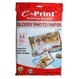 e-Print Photo Paper Glossy A4 [PP-GLO-018] - Kertas Foto / Photo Paper